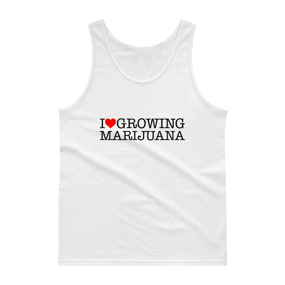 I Love Growing Marijuana | Tank top