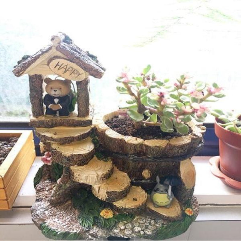 Pot terrarium Welcome