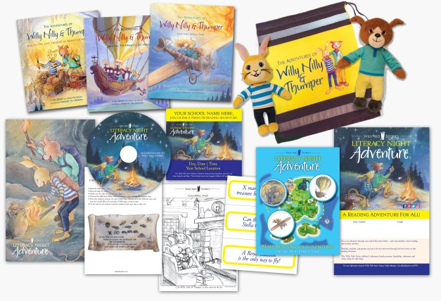 Literacy Night Adventure Packet