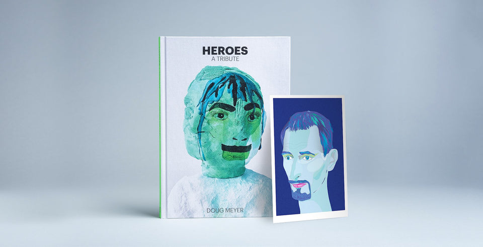 Heroes: A Tribute - Blue Art Edition
