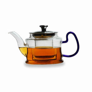 TRANSPARENT TEA KETTLE WITH GLASS INFUSER - Mayukh