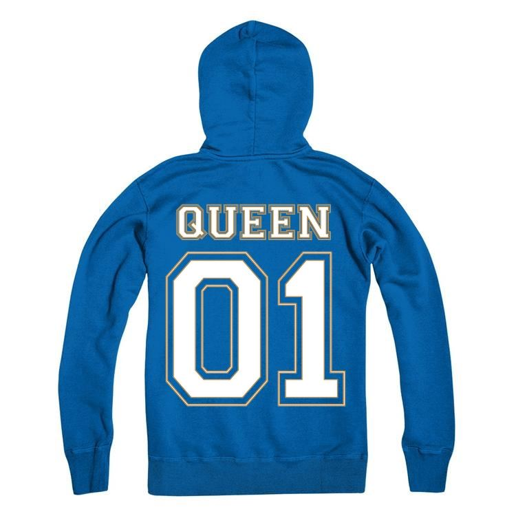 QUEEN Personalised Number Hoodie Adults