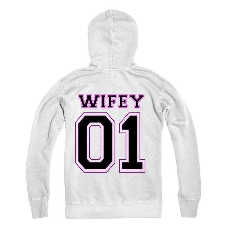 WIFEY Personalised Number Hoodie Adults