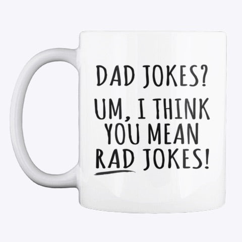 Dad jokes ? Furthers day mug