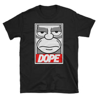 Homer Simpson Dope T-Shirt - Simpsons Gift Tee Shirt - Simpsons