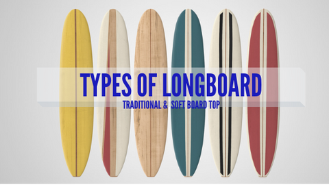 Types of surf long boards that you can find online