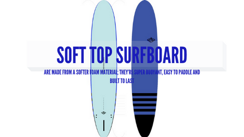 Soft top surfboard or commonly called ''foamies''.
