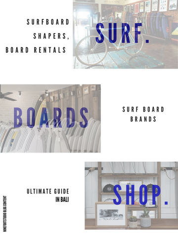A Blog banner for the guide in buying surfboard