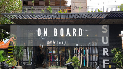 Onboard store located in Canggu.