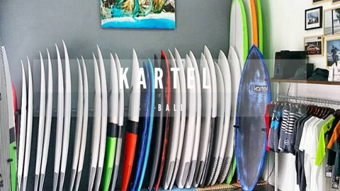 Kartel Board shop in Canggu