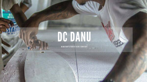 Danu Sworo board shaping