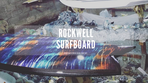 Rockwell Surfboard shop (boards on the workshop)