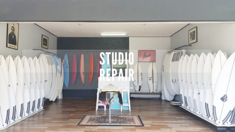 Studio repair surf shop