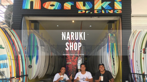 Naruki shop with some crew of the shop posing for the photo