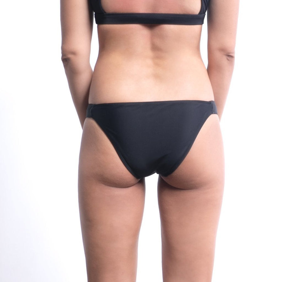 Balian surf bikni bottom in blackmade from high quality lycra