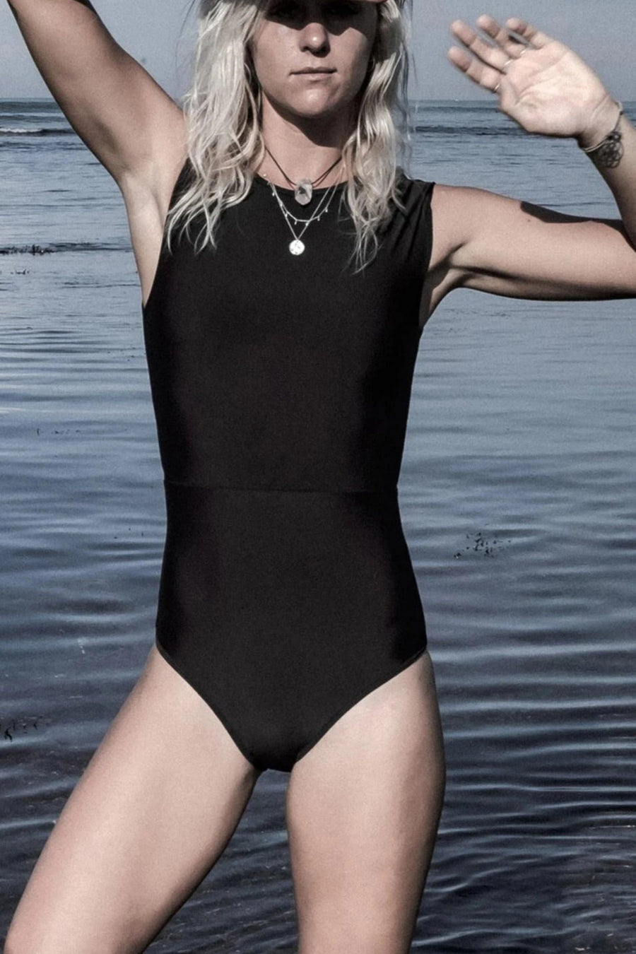 Kedungu surf swimsuit  Black