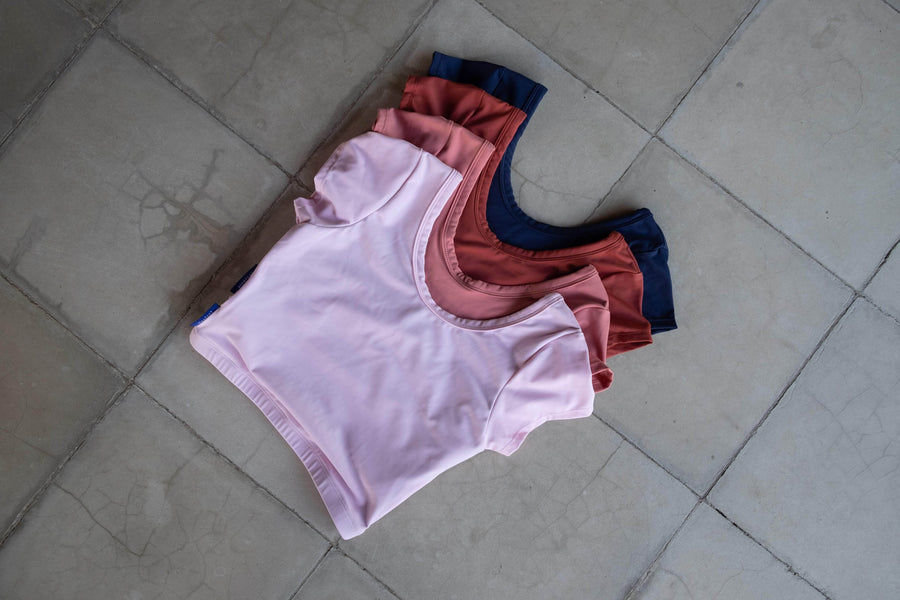 Bingin Rashguard in Terracotta