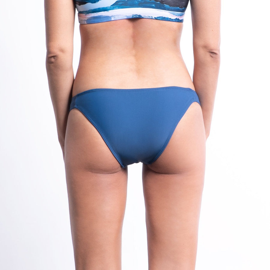 Balian surf bikni bottom in blue made from high quality lycra