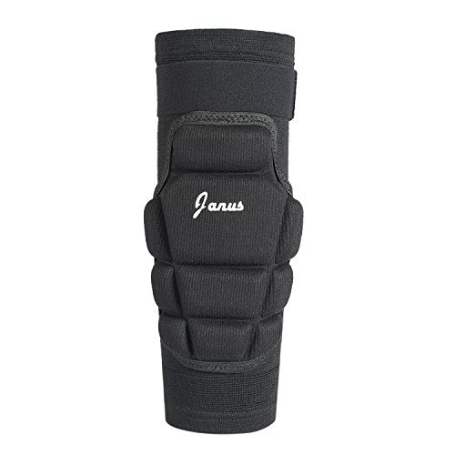 Sportout Anti-collision Knee Support for Goalkeeper and Soccer Player,Black(2 Pack)