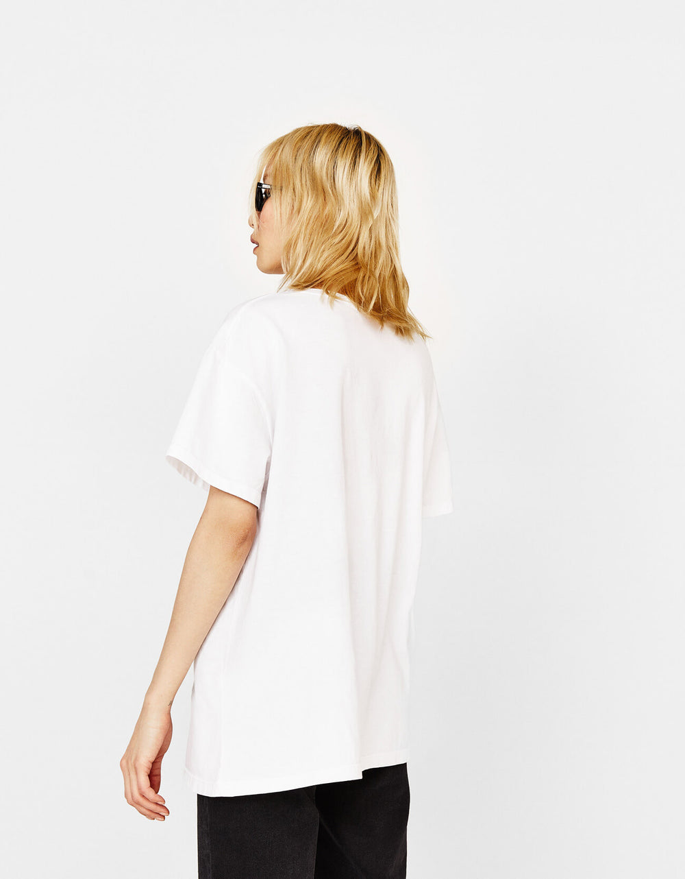 Ecologically grown cotton T-shirt with print