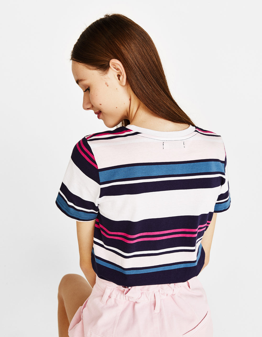 Cotton Off-the-Shoulder Tee