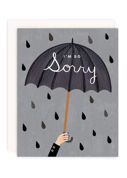 I'm So Sorry Greeting Card - Tigertree