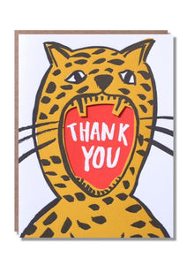 Thank You Roar Card - Tigertree