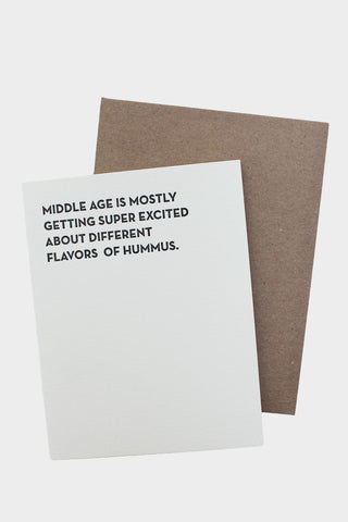 Hummus Card - Tigertree