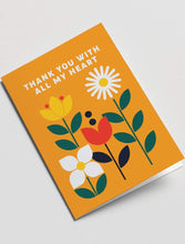 Load image into Gallery viewer, Thank You Greeting Card - Tigertree