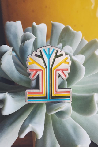 Tigertree Enamel Pin