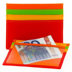 110 Leather Card Holder - Tigertree - 3