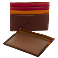 110 Leather Card Holder - Tigertree - 11