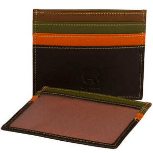 110 Leather Card Holder - Tigertree - 12
