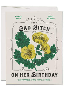 Bad Bitch Birthday Card - Tigertree