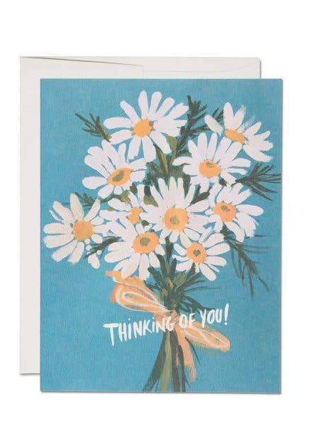 Daisy Thinking Of You Card - Tigertree
