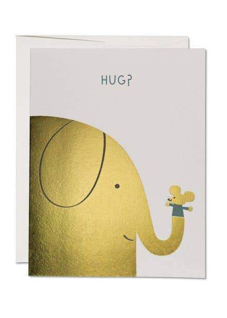 Elephant Hugs Card - Tigertree