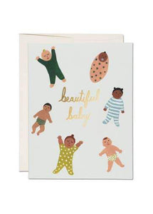 Beautiful Baby Card - Tigertree