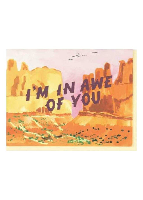 In Awe of You Card - Tigertree