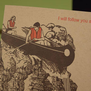Follow You Card - Tigertree