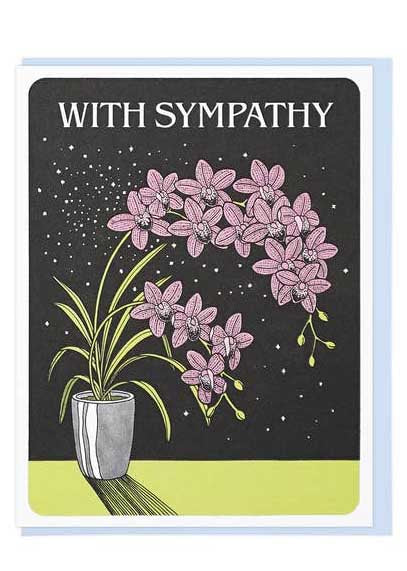 With Sympathy Orchids - Tigertree