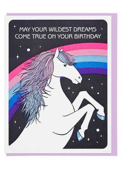 Wildest Dreams Birthday Card - Tigertree