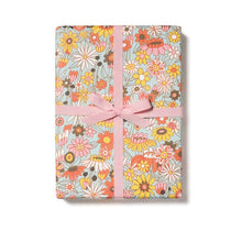Load image into Gallery viewer, Groovy Bloom Wrapping Paper - Tigertree