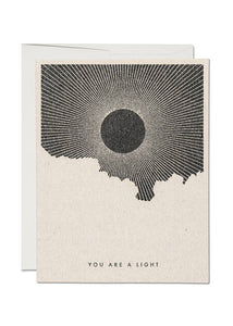 You Are A Light Card - Tigertree