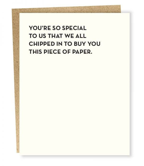 So Special Card - Tigertree