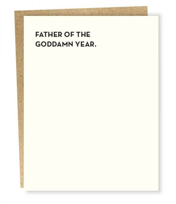 Father of the Year Card - Tigertree