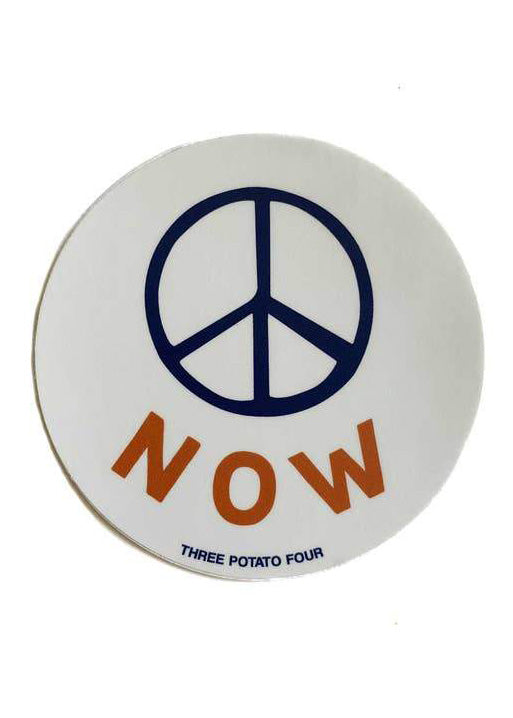 Peace Now Sticker - Tigertree