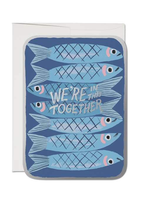 Sardines Together Card - Tigertree