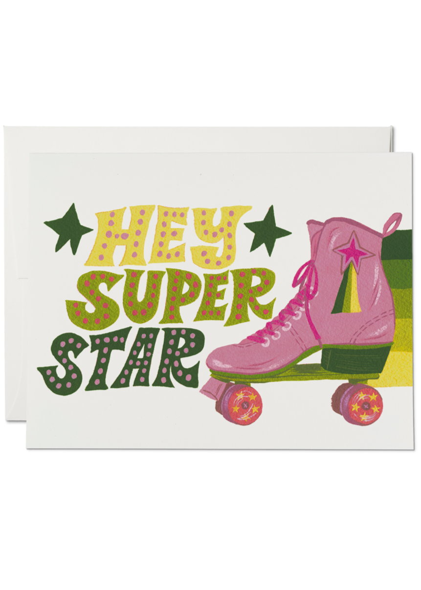 Roller Skate Superstar Card - Tigertree