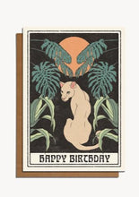 Load image into Gallery viewer, Happy Birthday Puma Card - Tigertree