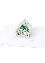 Load image into Gallery viewer, Green House Pop Up Card - Tigertree